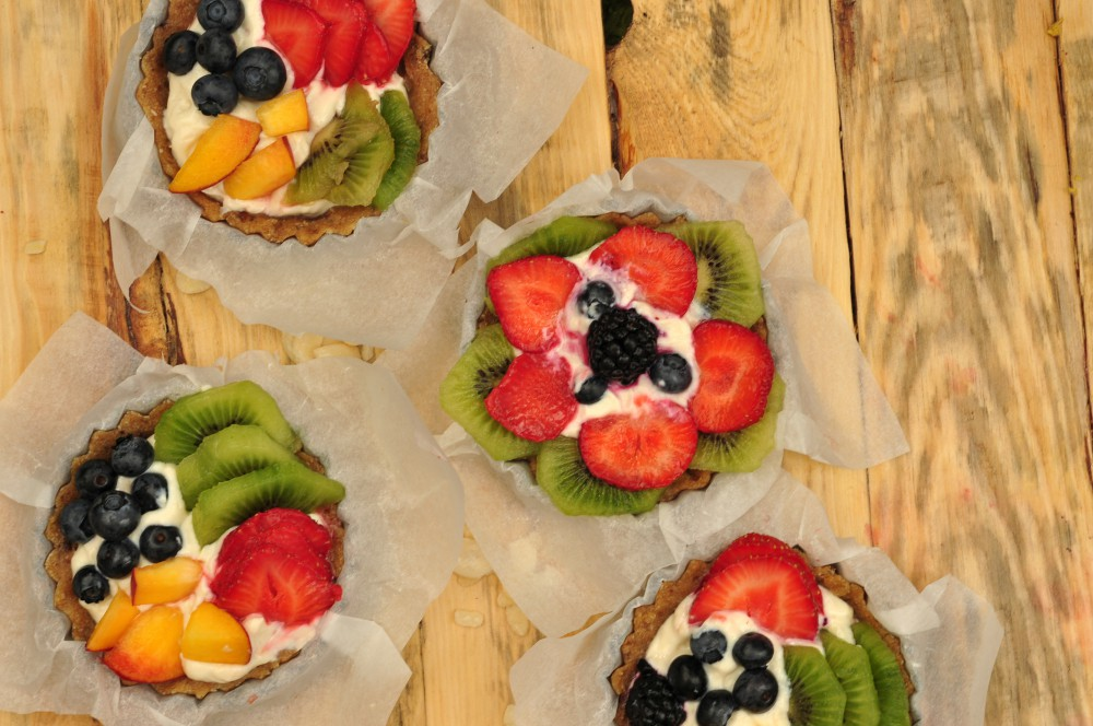vegan fruit tarts