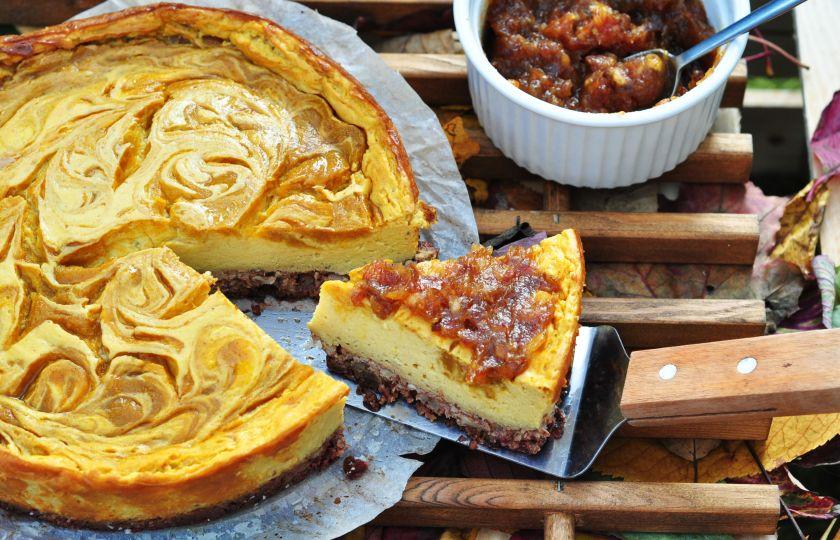 pumpkin tofu cake